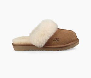 UGG Cozy II Sheepskin Chestnut Slippers • Size 3