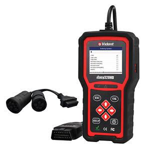 OBD Truck Scan Tool 24V Diesel Diagnostic Scanner 9Pins 6Pins OBD2 System Scan
