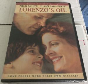 LORENZO'S OIL DVD Nick Nolte Susan Sarandon New Sealed In Case Movie