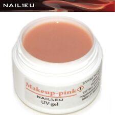 Maquillaje Gel de Construcción ROSA NAIL1.EU 7ml/ UV Camuflaje Builder