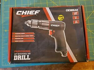CHIEF 3/8 in. Reversible Air Drill