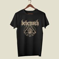 BEHEMOTH Rock Band Logo Men's Black T-Shirt Size S-3XL