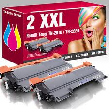 2 Toner für Brother TN2220 HL2240 HL2250DN MFC7360N MFC7460DN MFC7860 DCP7065DN