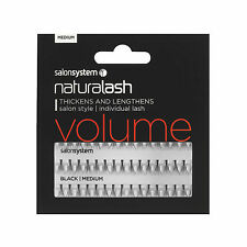 Salon System Individual Lashes for Thickness and Length in Short Brown