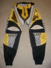 """FLY Racing BMX Motocross Racing Pants size 34"""" waist 29"""" inseam , 38.5"""" length"""