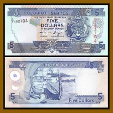 Solomon Islands 5 Dollars, 2008 P-26 Unc