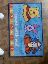 Tappeto Disney Winnie The Pooh Per bambini CM 140x80