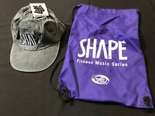SHAPE FITNESS MUSIC SERIES—1997 PROMOTIONAL HAT & BAG