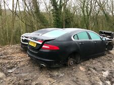 jaguar xf body bare damaged   shell with I'd  59 REG