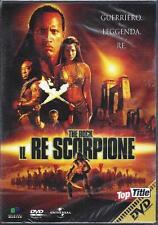 Dvd **IL RE SCORPIONE** con The Rock nuovo sigillato 2002