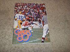 1980 Auburn Tigers at Florida Gators football program - Cris Collinsworth