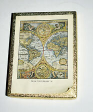 """Antioch Bookplates """"Map Of The World""""~Box of 50~Open Box Mint Condition"""