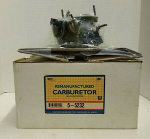 HOLLEY CARB 2BBL 1985-1987 CHRYSLER PRODUCTS 4 CYL 135 (2.2) ENGINE 5-5232