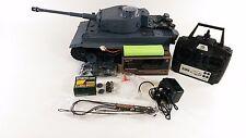 Aggiornato 2.4GHZ Dual Sound TIGER 1 HENG LONG RC Model Army FUMO BB BATTLE TANK