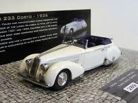 Lancia Astura Tipo 233 Corto 1936 Minichamps 437125330 in OVP 1/43