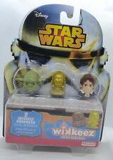 Wikkeez Star Wars Yoda, C3PO et Han Solo