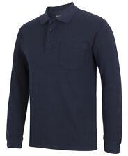 Mens Polo Shirt Long Sleeve 210 Polo JBswear Jb's Wear Size S M L XL 2xl