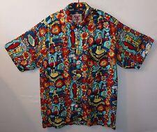 "MAMBO Bikini Atoll Nuclear Bomb Hawaiian shirt  UK XXL US XL 50"" 127 cm H440"