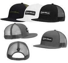 TAYLORMADE MENS LIFESTYLE TRUCKER FLATBILL HAT SNAPBACK CAP NEW 2020 -PICK COLOR