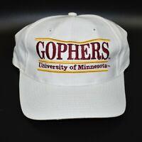 Minnesota Golden Gophers NCAA Vintage 90's The Game Adjustable Snapback Cap Hat