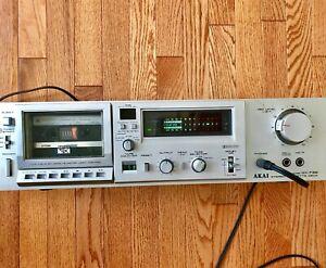 Vintage Akai GX-F35 Retro Stereo Single Compact Cassette Deck