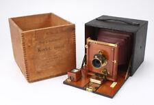KODAK NO.4 FOLDING KODET SPECIAL, WITH WOODEN BOX/cks/194281