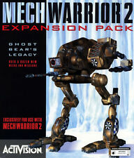 Mechwarrior 2 Ghost Bear's Legacy PC Games Classic Computer expansion mech war