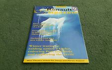 Winter 1997 1998 RENAULT MAGAZINE Number 141 UK BROCHURE Espace RT-X Formula 1