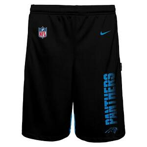 Nike NFL Boys Youth (8-20) Carolina Panthers Knit Player Shorts, Black