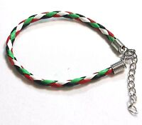 New Palestinian Flag Braided Bracelet Palestine Four Colors Flag Wristband # A