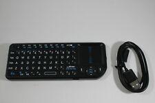 Visiontek CANDYBOARD Wireless Keyboard 69-Keys USB Bluetooth Black w/ Flashlight