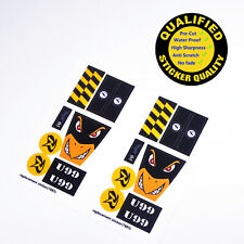 CUSTOM sticker for LEGO 7885 Attack of The Penguin, Premium quality sticker*2