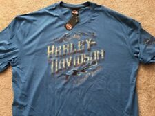 Harley Davidson  Quality Blue Shirt Nwt Men's XL