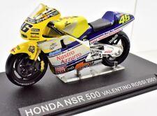 MODELLINI MOTO GP HONDA NSR 500 SCALA 1:24 VALENTINO ROSSI 2001 DIECAST BIKE NEW