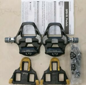 Shimano Ultegra R8000 SPD-SL Carbon Road Bike Pedals with Cleats