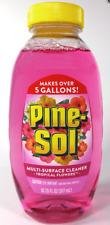 Pine Sol Multi Surface Cleaner, Concentrated, Tropical Flowers, 10.75 fl oz
