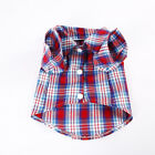 New Pet 2-legged Clothes Multi-colored Grid Shirt For Small Dog Teddy Cat Summer