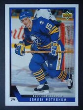 NHL 450 Sergei Petrenko Buffalo Sabres Upper Deck 1993/94