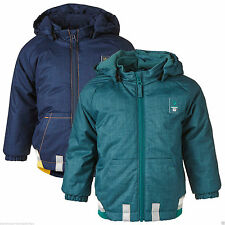 Jungen-Winterjacken mit Kapuze aus Polyester