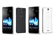 Original Sony Xperia V LT25i Black 8GB Unlocked Android smartphone 13MP WIFI GPS