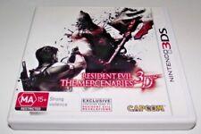 Resident Evil The Mercenaries 3D Nintendo 3DS 2DS Game  *Complete*