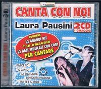 CANTA CON NOI LAURA PAUSINI COVER VERSION 2 CD F.C.SIGILLATO!!!