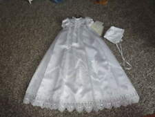NWT NEW THE VATICAN LIBRARY COLLECTION 3M 3 MONTHS CHRISTENING GOWN DRESS BONNET