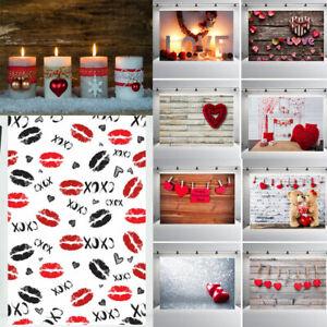 Valentine's Day Lovers Background Studio Photography Backdrop Studio Props