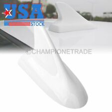 US White Roof Shark Fin Aerial Dummy Antenna Decoration Tape For Toyota Camry