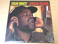 EX/EX !! Sugar Minott/African Soldier/1988 Heartbeat LP/Rare Reggae