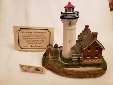 Harbour Lights 506 Port Sanilac, Mi Lighthouse, Coa Society Excl Box #2571 c1997