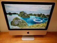 🍎 Apple iMac (20-inch, Early 2008) Core 2 Duo C2D 2.4 GHz 4GB RAM 250GB HDD 🍏