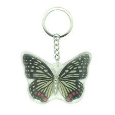 Real Red Ring Skirt Butterfly Keyring
