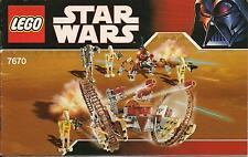 LEGO 7670 - STAR WARS - Hailfire Droid and Spider Droid - 2008